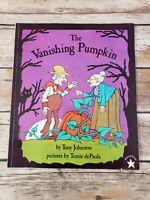 The Vanishing Pumpkin by Tony Johnston Paperback