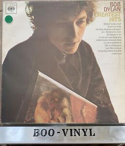Bob Dylan Greatest Hits Vinyl LP Record CBS SBPG 62847 Stereo UK 1966 A2/B1