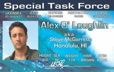 Hawaii Five-O Alex O'Loughlin STEVE McGARRETT Honolulu HI card Drivers License