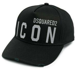 Dsquared2 Icon Baseball Distressed cap 0412 REFLECTIVE