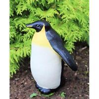 Plastic Penguin Lawn Figurine Simulation Garden Party Ornaments Black& White