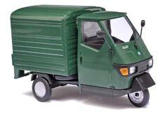 Piaggio Ape 50 furgoneta verde 1 43 Busch