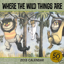 WHERE THE WILD THINGS ARE 2013 CALENDAR SEALED 50TH ANNIVERSARY NO LONGER MADE