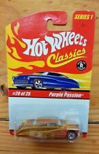 HOT WHEELS 2005 CLASSICS SERIES 1 #20 PURPLE PASSION SPECTRAFLAME GOLD (A+/A-)