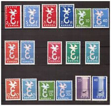 s15621 EUROPA CEPT 1958 MNH**  Complete