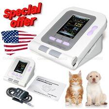 Veterinary Color Digital Blood Pressure Monitor VET/Animal NIBP Machine,US Sell
