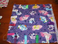 PERSONALISED BABY GIRLS TAG BLANKETS *MY LITTLE PONY PRINT*