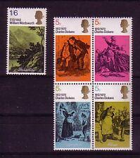 Großbritannien  Michelnummer 544 - 548 postfrisch (intern: Land )