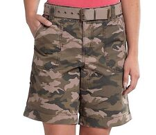Carhartt - Women's 8 - NWT - Green El Paso Cotton Ripstop Camouflage Shorts