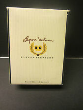 New Byron Nelson Limited Edition Fossil Pocket Watch LI-1417 + Signed Card + COA