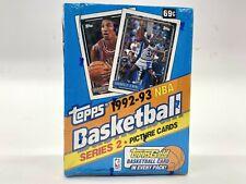 1992-93 Topps Basketball Series 2 Box Sealed GOLD possible JORDAN & SHAQ RARE