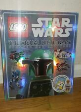 100% Genuine Lego Star Wars Dictionary Book with Figure