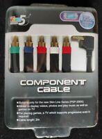 CAVO VIDEO COMPONENT PSP 2000 3000 SLIM & LITE SONY PLAYSTATION NUOVO SIGILLATO