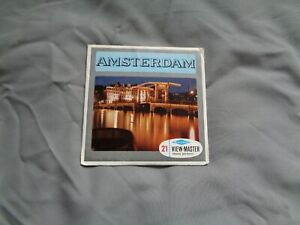 HARD TO FIND SAWYERS VIEWMASTER PACKET REF C388 AMSTERDAM  AS PHOTOS