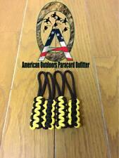 Black and Yellow Jeep Wrangler Zipper Pulls YJ TJ JK JKU