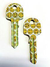 Schlüssel Schlüsselrohling Smilie UL050 Motivschlüssel Haustürschlüssel