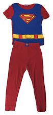 Dc Comics Justice League Superman Pajamas Boy's Size 10