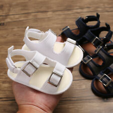 Infant Summer Sandals Newborn Baby Boy Girl Pram Shoes Child Kids Trainers 0-18M