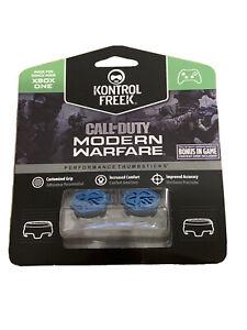 KontrolFreek Call of Duty Modern Warfare Thumbsticks Xbox One Series X Blue New