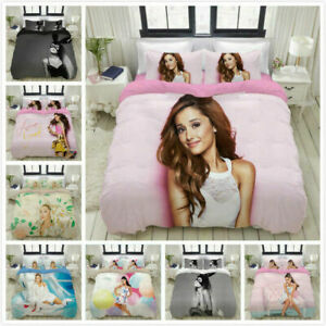 Ariana Grande 3D Printed Set Bedding Set Duvet Cover & Pillowcase Gift