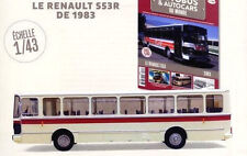 Bus Renault S53R  / 1983  1:43 New & Box diecast model  autobus 30 cm