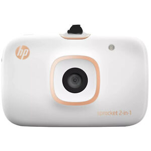 HP Sprocket 2in1 Zink Mobile Photo Bluetooth Printer Camera [2FB96A]