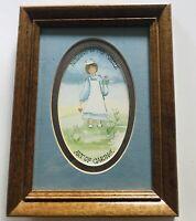 "Heartstrings Print by Sandy Lord ""Nursing Is The Gentle Art Of Caring"" Framed"