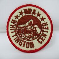 "Vintage Souvenir Patch - NRA - Whittington Center - Gun Rights - 3"""