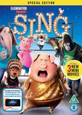 Sing DVD 2017