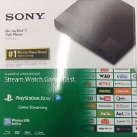 Sony BDP-S3700 BDPS3700 Streaming Blu-Ray Disc DVD Player Wi-Fi Black