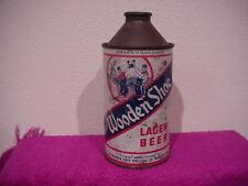 Wooden Shoe Lager Beer Cone Top Beer Can