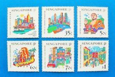 Singapore 1999, Singapore-Hong Kong, China Joint Issue,  Complete 6 V