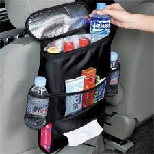 1x Practical Auto Seat Back Ice Pack Bag Car Insulation Storage Durable Black B