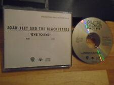RARE PROMO Joan Jett & Blackhearts CD Eye To E RUNAWAYS Bikini Kill Metal Church