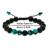 Cute Ladies Natural Volcanic Buddha Bead Yoga Aromatherapy Bracelet Jewelry