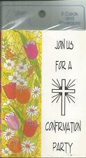 JOIN US FOR A CONFIRMATION PARTY - 8 Cards and Envelopes by Magic Moments