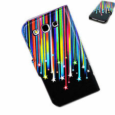 Lucky Stars Flip Synthetic Leather Cover Case For Samsung Galaxy S3 III i9300