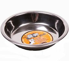 GoGo Stainless Steel Cat Dish Cat Saucer, Scratch Resistant High Quality - 6""