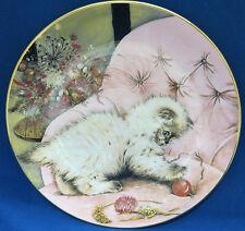 Little Rascal Kitten Cat Show Collector Plate Royal Worcester 1985 Mint w COA