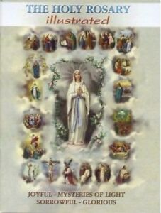 The Holy Rosary Book with Mysteries Catholic Rosary Booklet