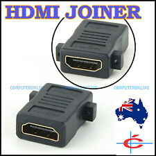 HDMI Cable Joiner Connector / Adapter, Type A Receptacle (Female) Both Sides