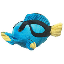 New Blue Tang Tropical Reef Fish 9 inch Plush Stuffed Wildlife Artists Toy Gift