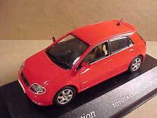 J-collection 1/43 Diecast Toyota Corolla 5-Door Hatchback, RHD, Red  #JC007