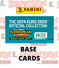 PANINI ADRENALYN XL EURO 2020 - 2021 KICK OFF - BASE CARDS A SCELTA