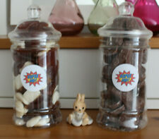 SUPER DAD VICTORIAN GIFT SWEET JARS FATHER'S DAY / BIRTHDAY / CHRISTMAS  / GIFT