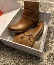 Womens Pikolinos Boots Zaragoza Brandy W9H-8907 Sz 39 $209 Msrp