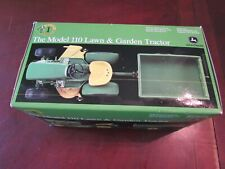 Ertl Precision #1 John Deere Model 110 Lawn & Garden Tractor Diecast 1 16