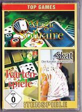 SKAT der Klassiker für PC & MAGIC SOLITAIRE 50 Varianten & 21 KARTENSPIELE