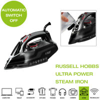 Russell Hobbs 20630 Powersteam Ultra Vertical Steam Iron 3100W Ceramic, Black