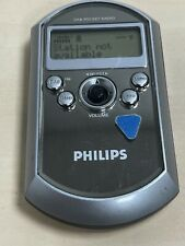 Philips DA1000 DAB/FM Personal Pocket Digital Radio, LCD Display - Silver